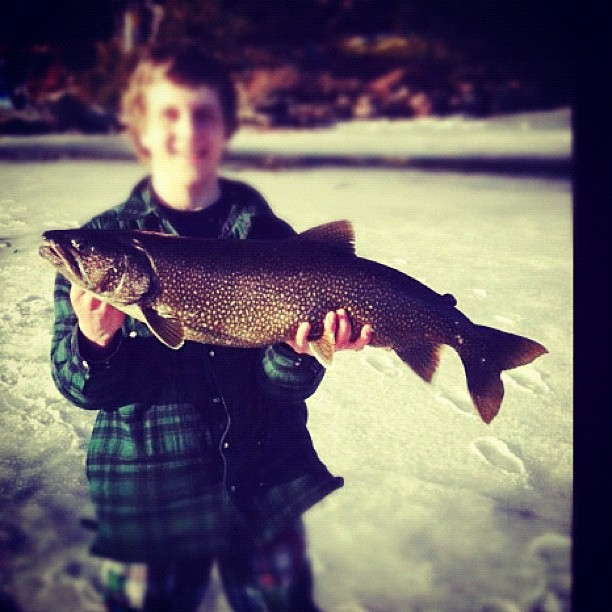 Minnesota take a kid ice fishing weekend the ifish apps for Minnesota fishing license age